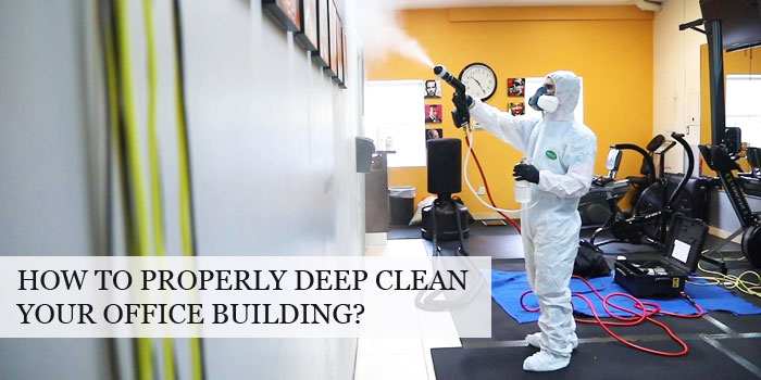 Amazing Tips to Deep Clean Your Office Premises